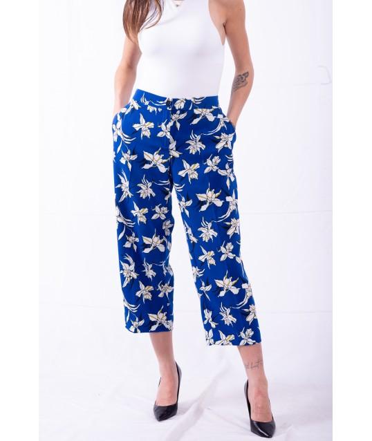 le Pantalon dans Un imprimé Floral Personne, Par Marina Rinaldi
