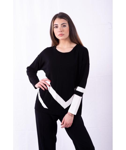 Knit With Stripes Persona By Marina Rinaldi