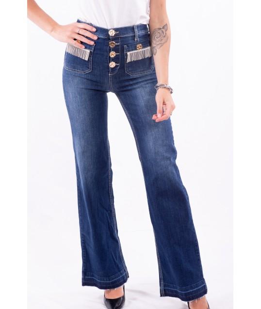 Jeans A Zampa Vita Alta Fracomina