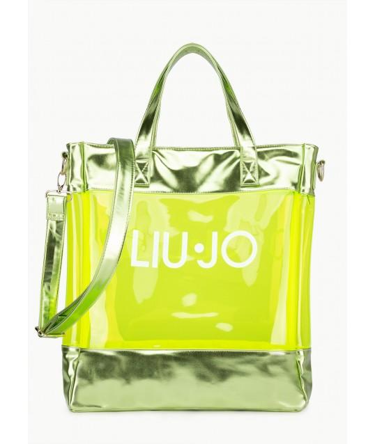 Shopping Bag With Logo Liu Jo