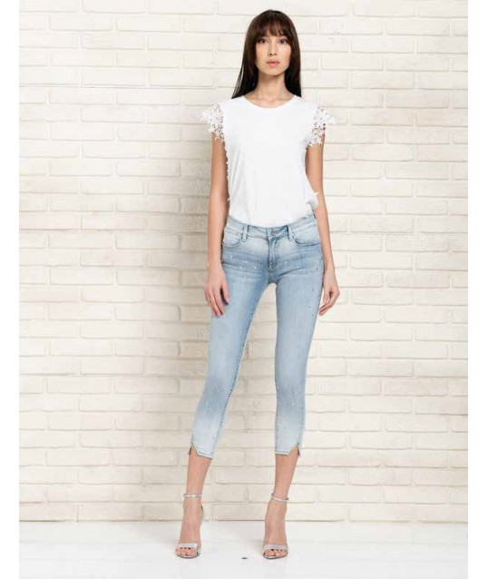 Denim With Applications Fracomina