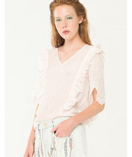 Shirt Embroidered Fracomina
