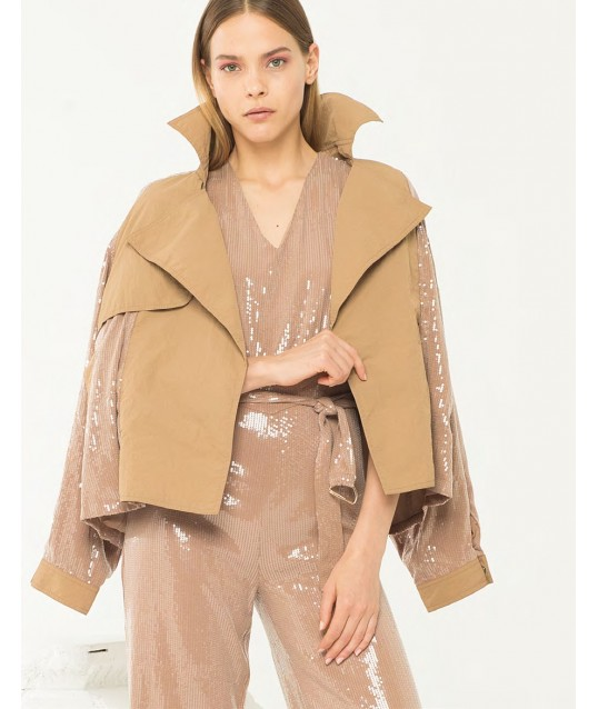 Jacket With Sequins Fracomina