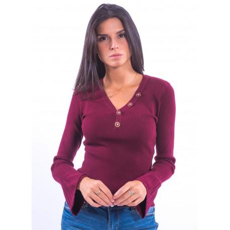Fracomina Ribbed Sweater