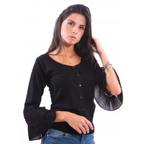 Cardigan With Bell Sleeve Fracomina