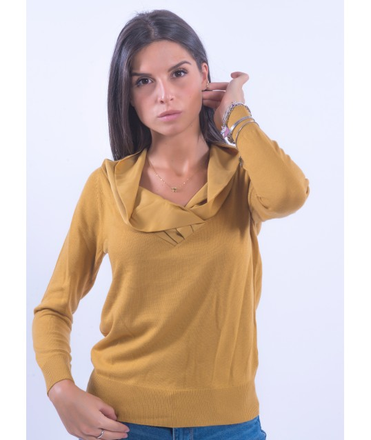 Solid Color Sweater Fracomina