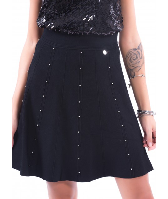 Skirt With Fracomina Applications