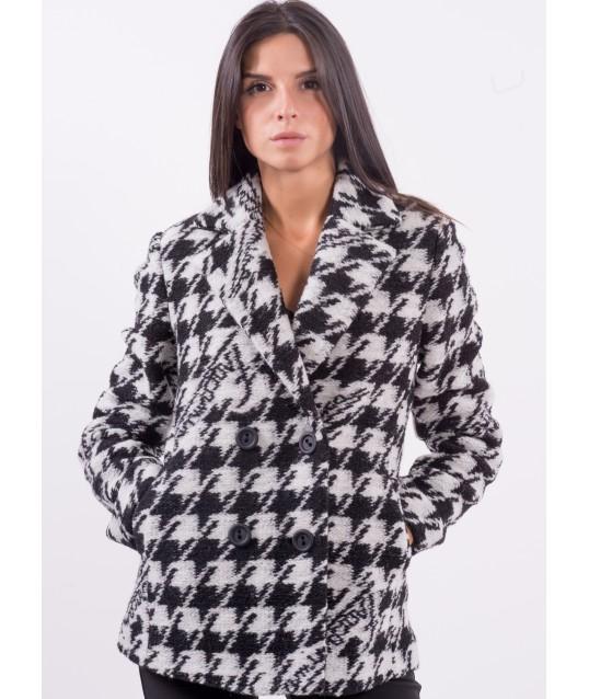 Manteau à motif Fracomina