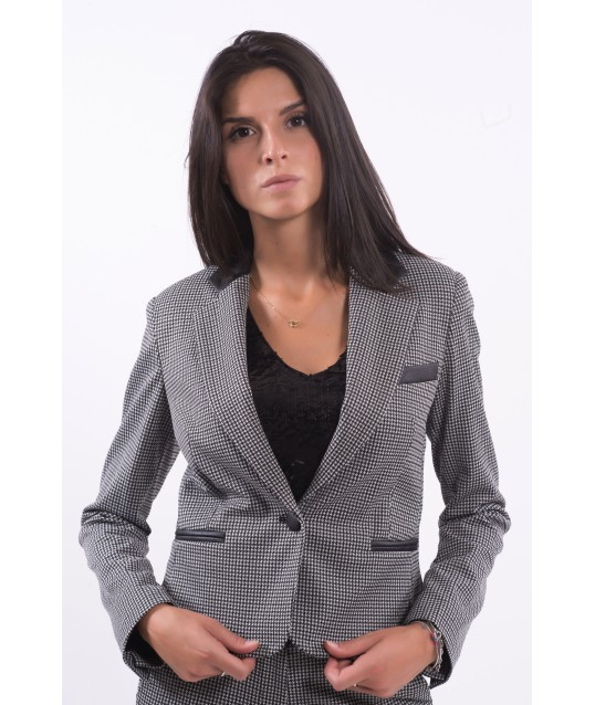 Jacket With Pattern Fracomina