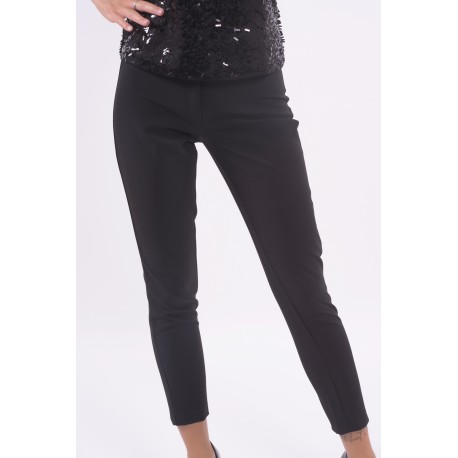 Classic Trousers Solid Color Fracomina