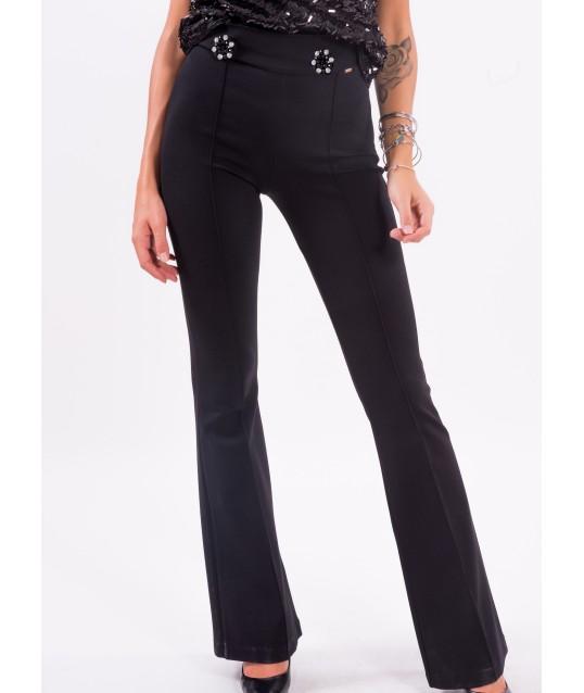 Pantalon évasé Fracomina