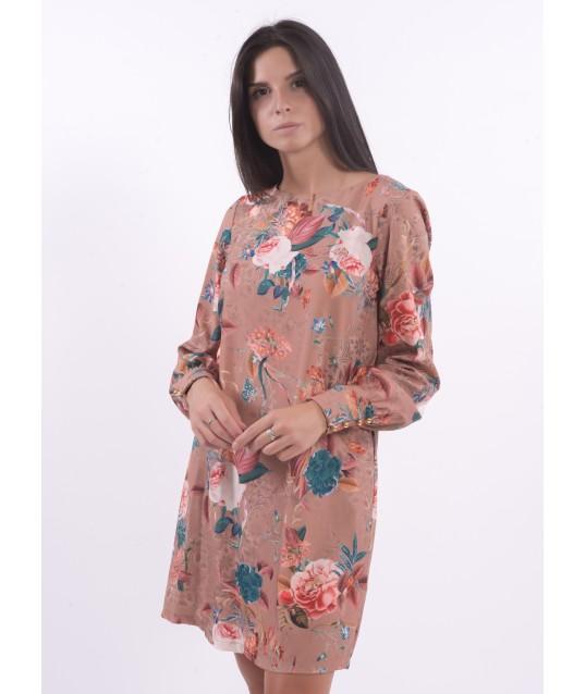 Dress With Floral Pattern XT Studio