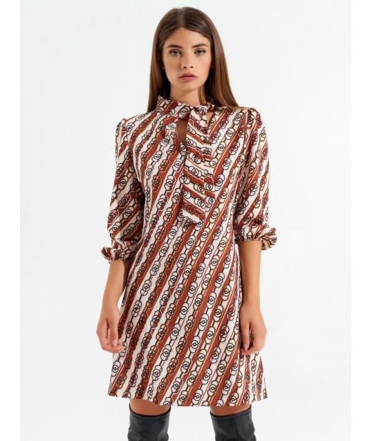 Retro A-Line Dress Rinascimento