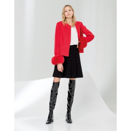 Fracomina Solid Color Coat