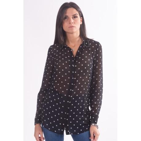 Shirt With Polka Dot Pattern Guess
