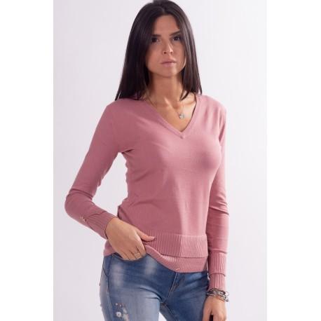 Fracomina Pointed Neck Sweater