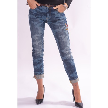 Jeans With Fracomina Pattern