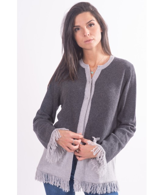Cardigan With Pockets-Carla B
