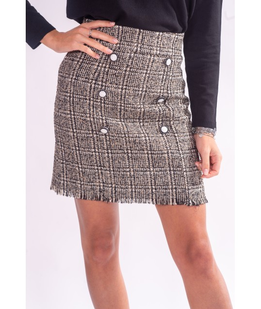 Skirt With Buttons Fracomina