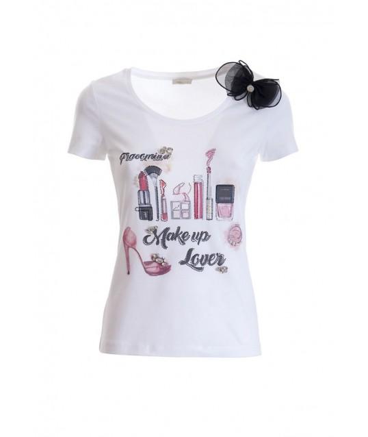 T-shirt Regular In Jersay Fracomina