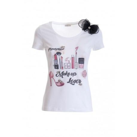 T-shirt Régulier En Jersay Fracomina