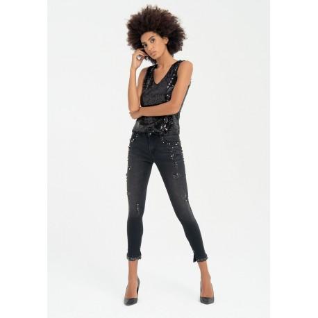 Jeans Skinny In Denim Fracomina