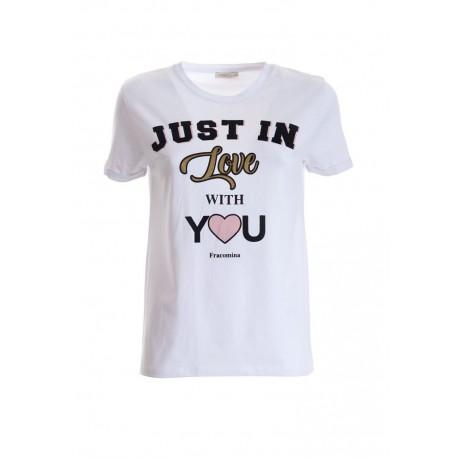T-shirt Con Stampa Fracomina