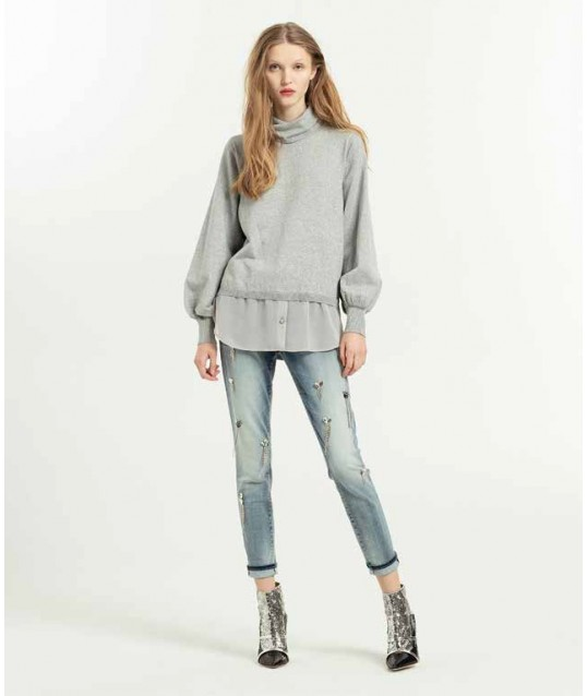 Jeans With Fracomina Applications