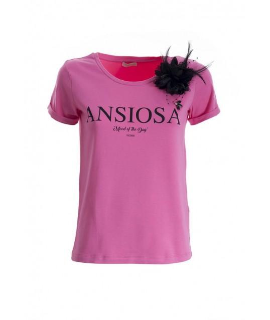T-Shirt With Fracomina Print
