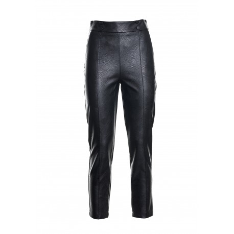 Fracomina Leather Pants