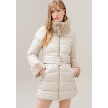 Regular Long Down Jacket Fracomina