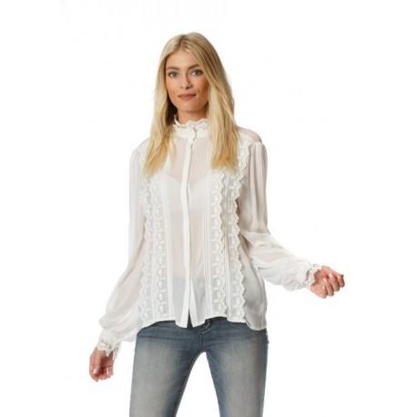 Shirt With Rouches Fracomina