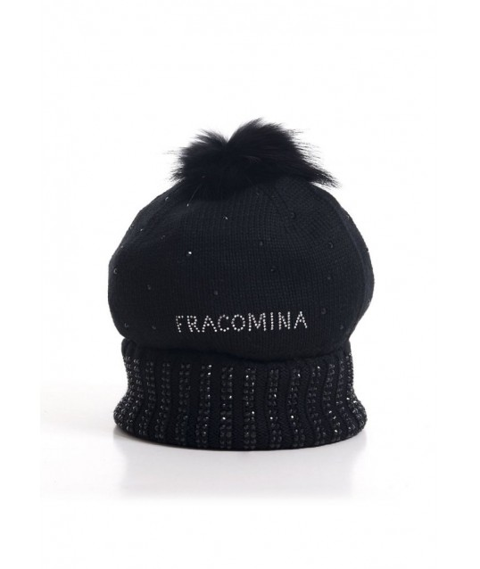 Hat With Applications Fracomina