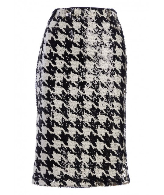 Skirt With Sequins Fracomina