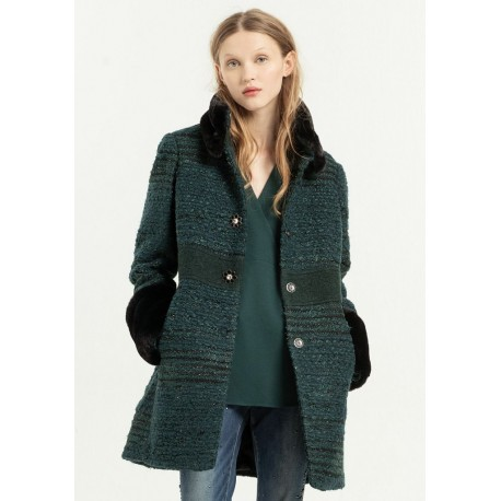 Fracomina Solid Color Coat