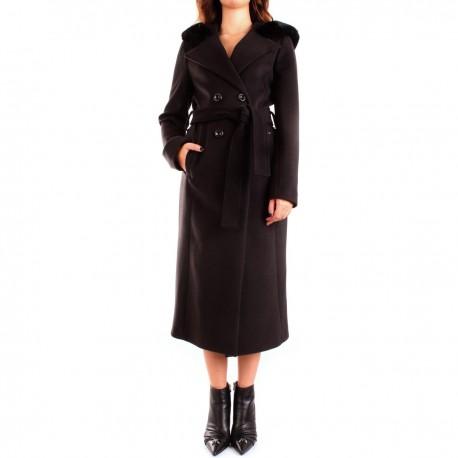 Coat With Hood Fracomina