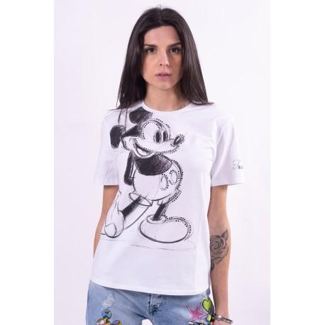 Sweater With Disney Fracomina Print