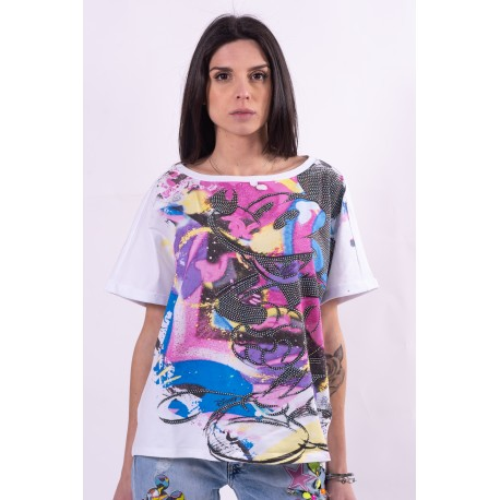 Multicolor Disney Fracomina sweater