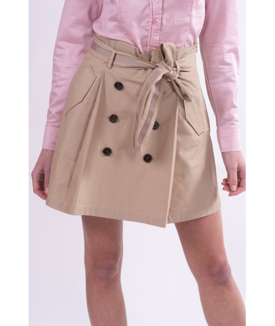 Solid Color Skirt Fracomina