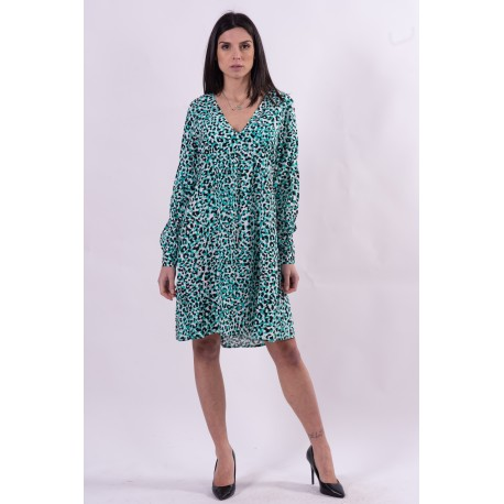 Dress With Spotted Pattern Fracomina