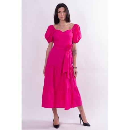 Long Dress Solid Color Fracomina