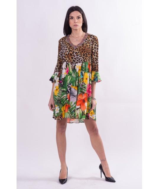 Double Fantasy Dress Fracomina
