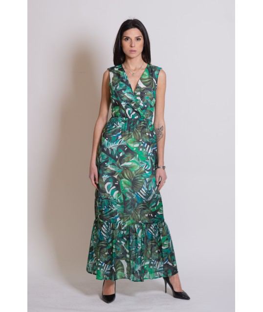 Floral Fantasy Dress Fracomina