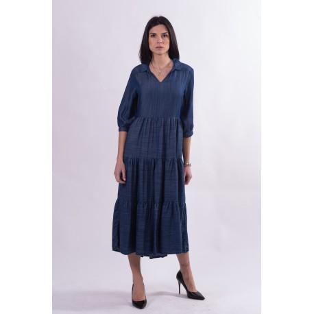 Long Dress In Jeans Fracomina