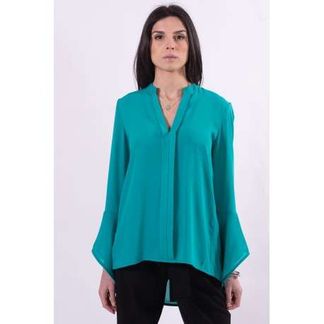 Solid Color Blouse Fracomina