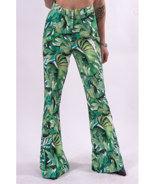 Fracomina Floral Patterned Trousers