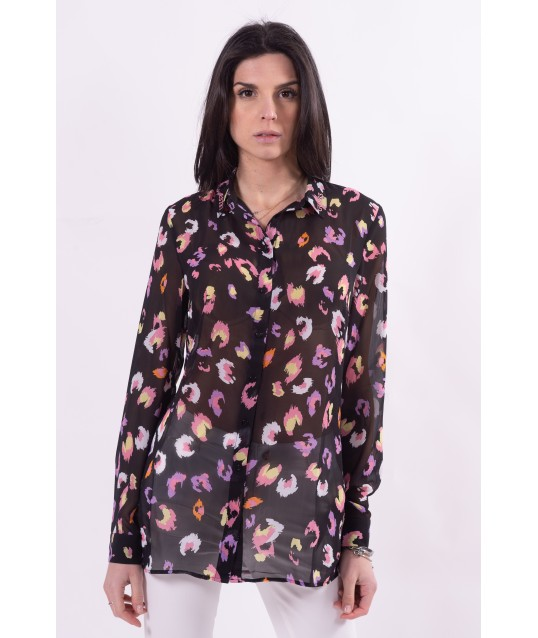 Guess Floral Patterned Shirt
