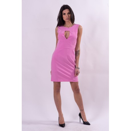 Guess Solid Color Sheath Dress