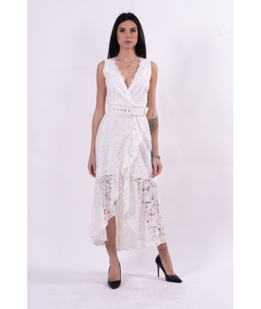 Dress With Guess Embroidery