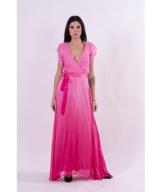 Guess Long Chiffon Dress